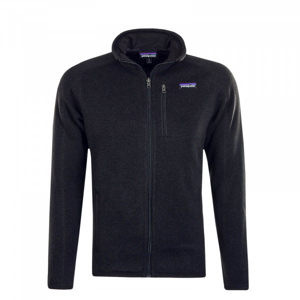 Herren Sweatjacke Better Black