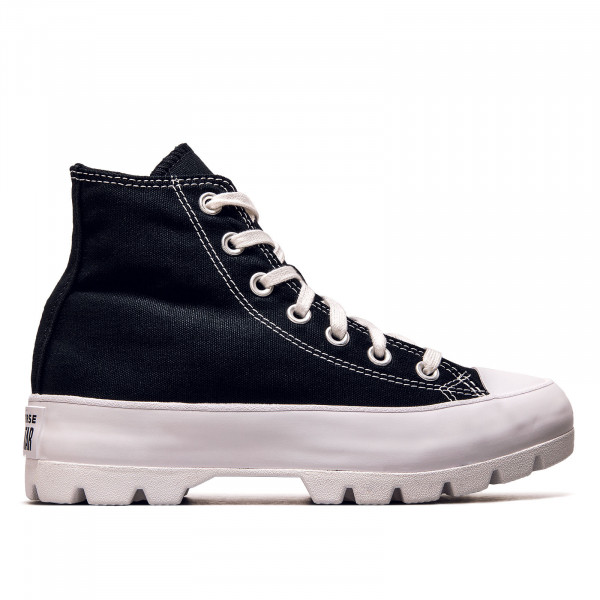 Damen Sneaker - CTAS Lugged Hi - Black / White