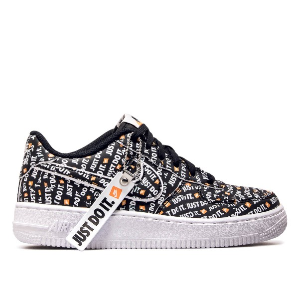Nike Wmn Air Force 1 JDI PRM Black Orang
