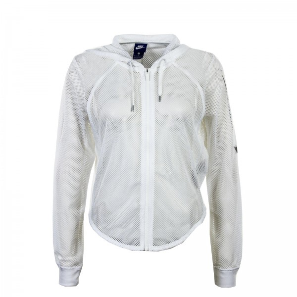 Nike Wmn Sweatjkt NSW FZ Crop Mesh White