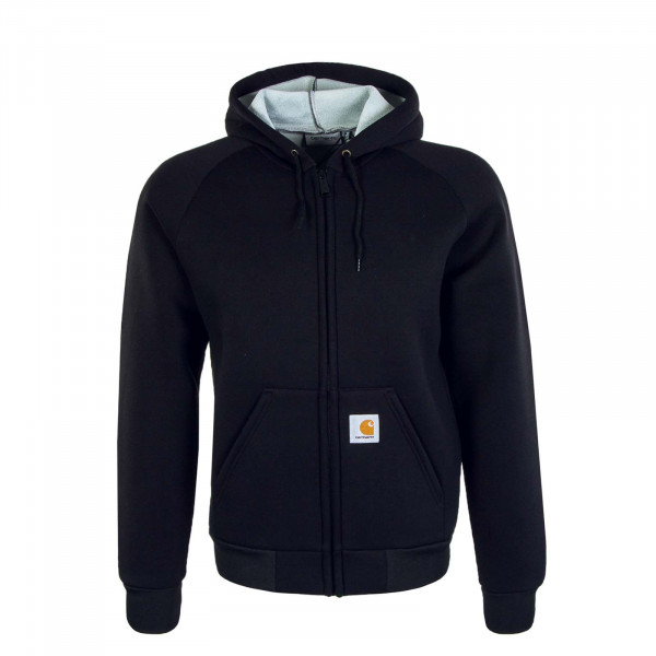 Herren Jacke Car-Lux Hooded Black Grey