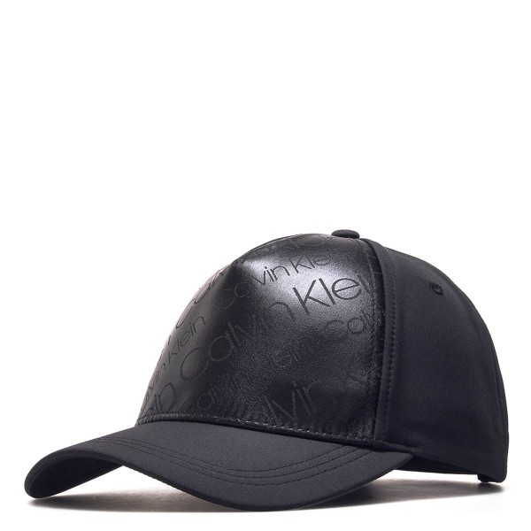 CK Cap Metallic Baseball Black