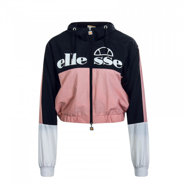Damen Trainingsjacke Crop.Deve Black Rosa