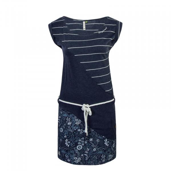 Dress Tag Stripes Organic Navy