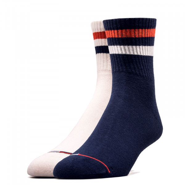 Socken 2er-Pack 491006001 Navy White