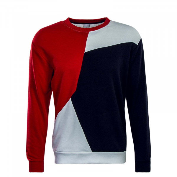 Sublevel Sweat 21060A Red Navy White