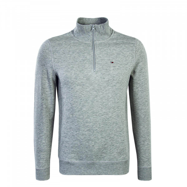 Herren Sweatshirt Essential Halfzip Grey