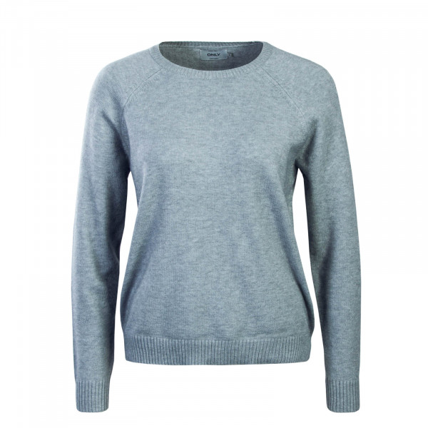 Damen Longsleeve Lesly Light Grey