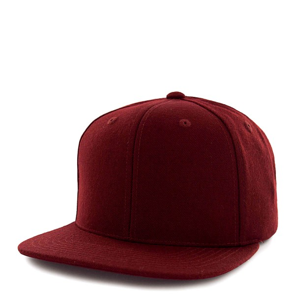 State Of Wow Cap Crown 12 Snap Bordeaux