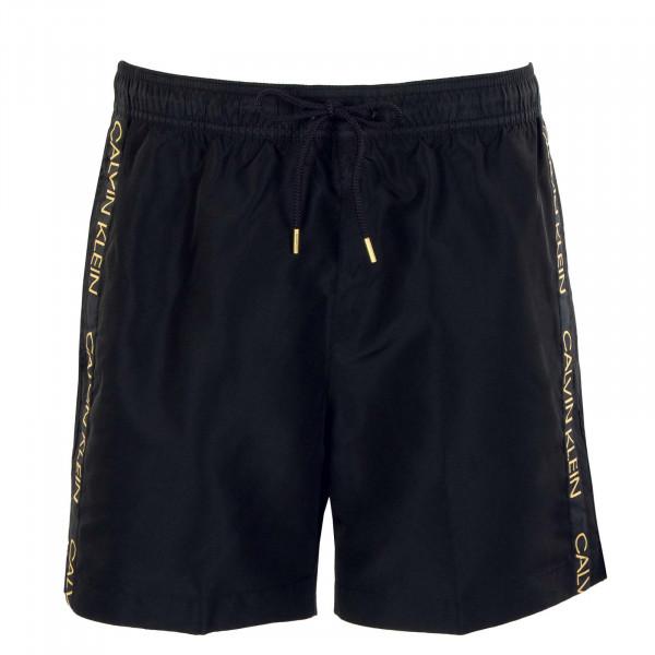 Herren Boardshort - Medium Drawstring 537 - Black