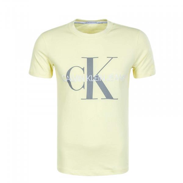 Herren T-Shirt Vegetable Dye 4762 Yellow