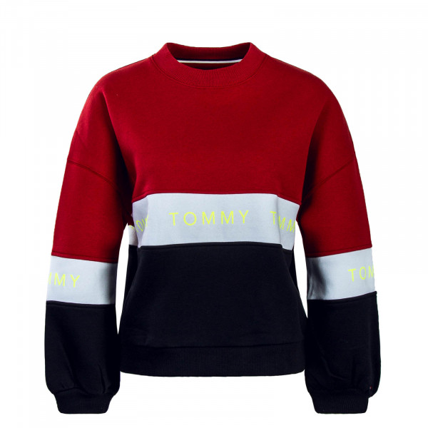 Tommy Wmn Colorblock 6001 Red Wht Black