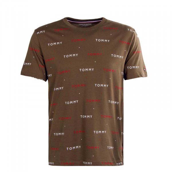 Herren T-Shirt - Print 2132 - Army / Green