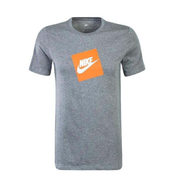 Nike TS NSW SS Futura Grey Orange White