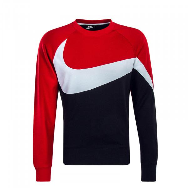 Nike Sweat HBR CRW Black Red White