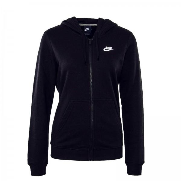 Nike Wmn Sweatjkt Hoodie FZ FLC Black