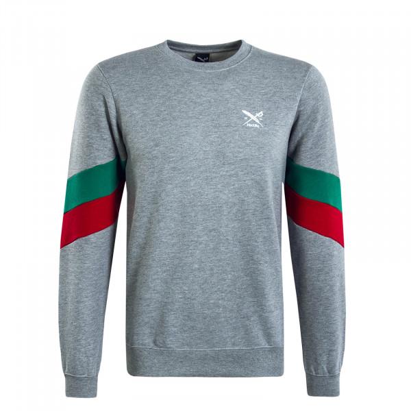 Herren Sweatshirt Prime Crew Grey