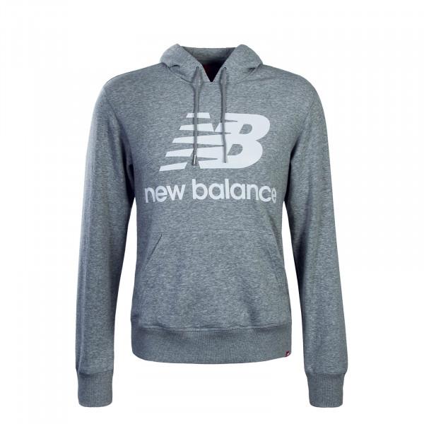 New Balance Hoody MT91547 Grey White