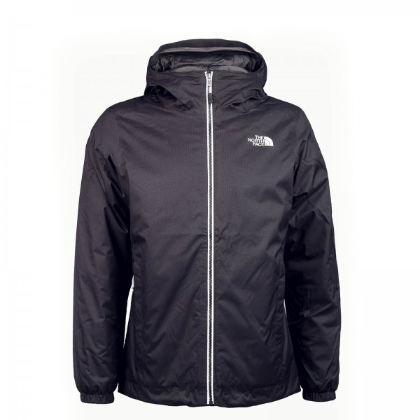 Northface Jkt Quest Ins Black White