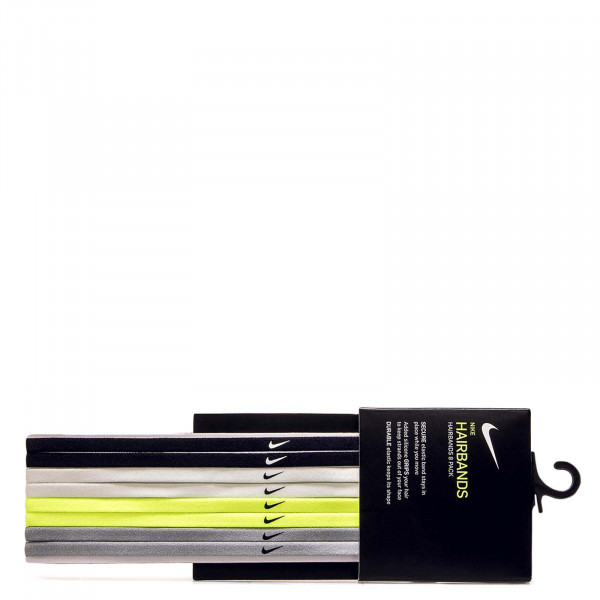 Nike ACC Hairbands 8P Black White Grey