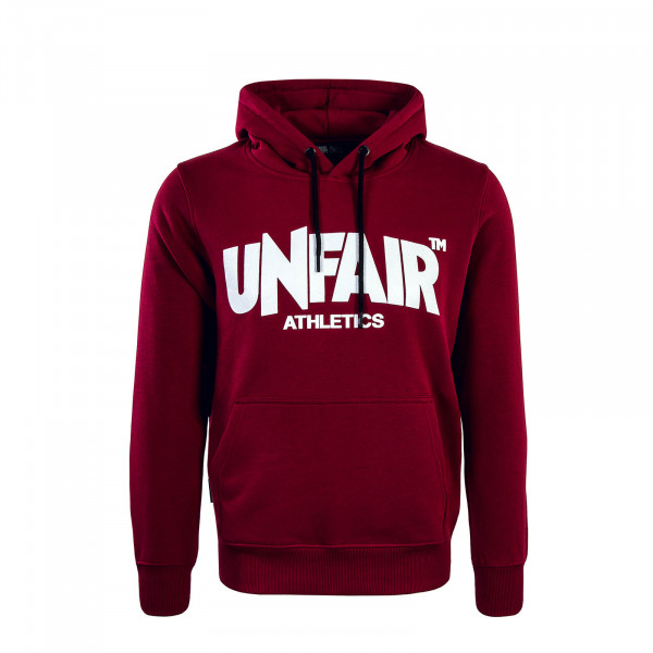 Hoody 074 Classic Label Bordeaux White