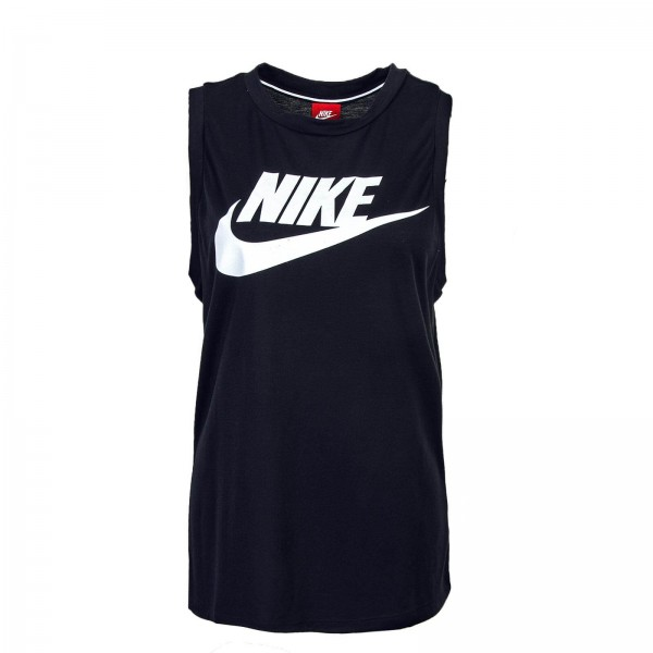 Nike Wmn Top Essential Black White