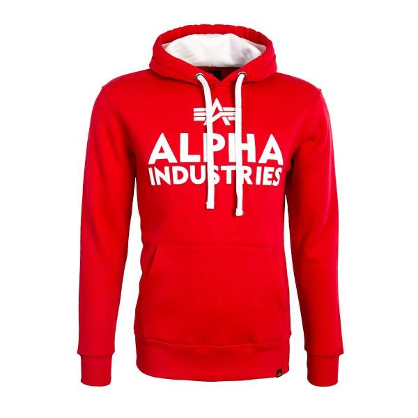 Alpha Hoody Foam Print Red White