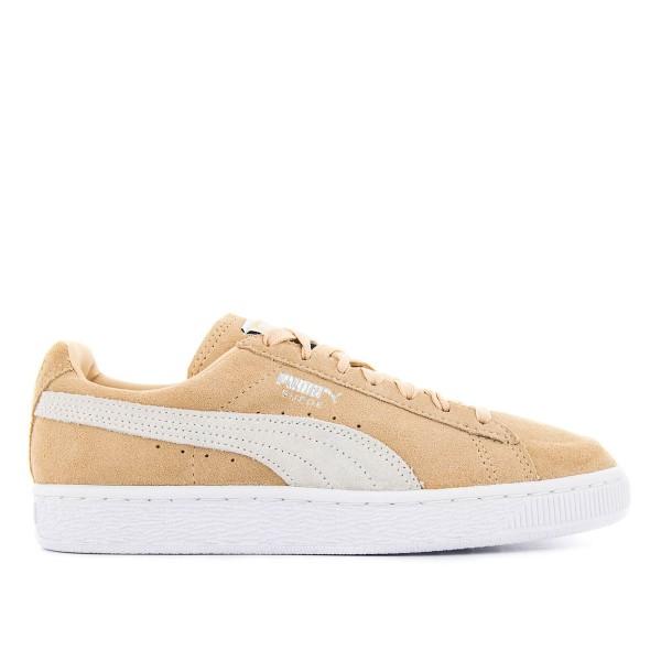 Puma U Suede Classic Natural White