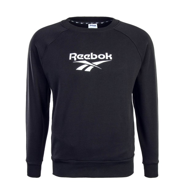 Reebok Sweat Cover Up Black White