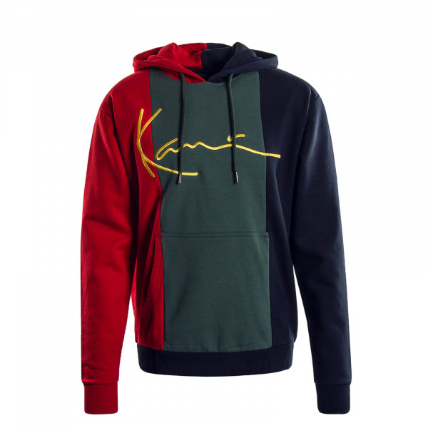 Herren Hoody Signature Green Blue Red