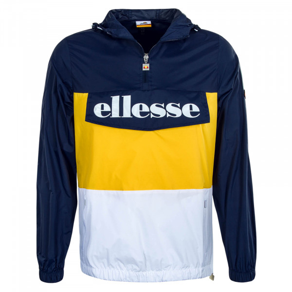 Herren-Windbreaker Domani Navy Yellow
