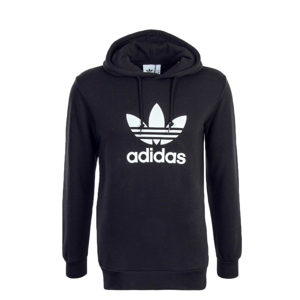 Adidas Hoody Trefoil Black White