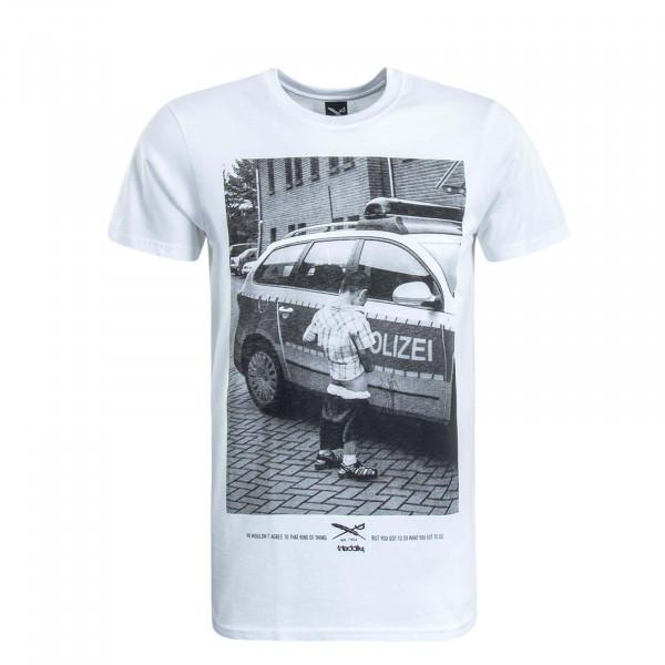 Herren T-Shirt Pissizei White