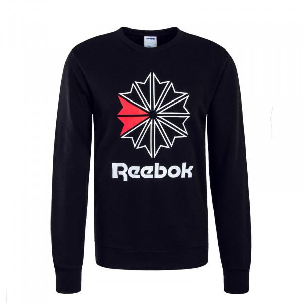 Herren Sweatshirt Starcrest Black White Red