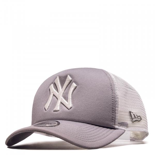 Cap Clean Trucker NY Grey White
