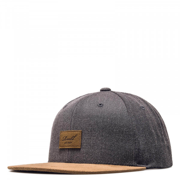 Cap Suede Heather Charcoal Brown