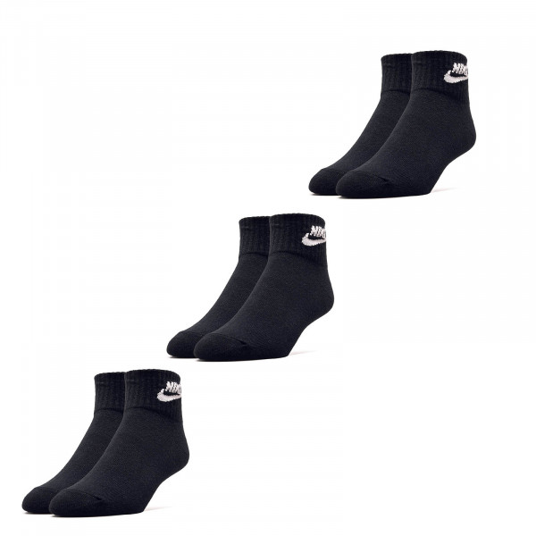 Socken 2er Pack Evry Essential Black White