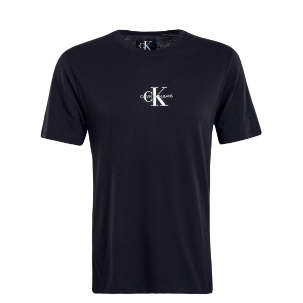 Herren T-Shirt Small Chest Monogram 4267 Black