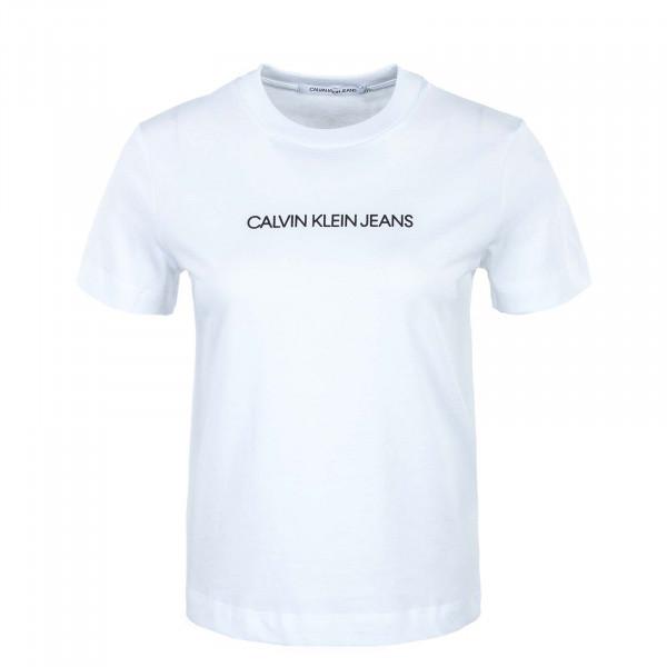Damen T-Shirt - Shrunken Institution - Bright / White / Black
