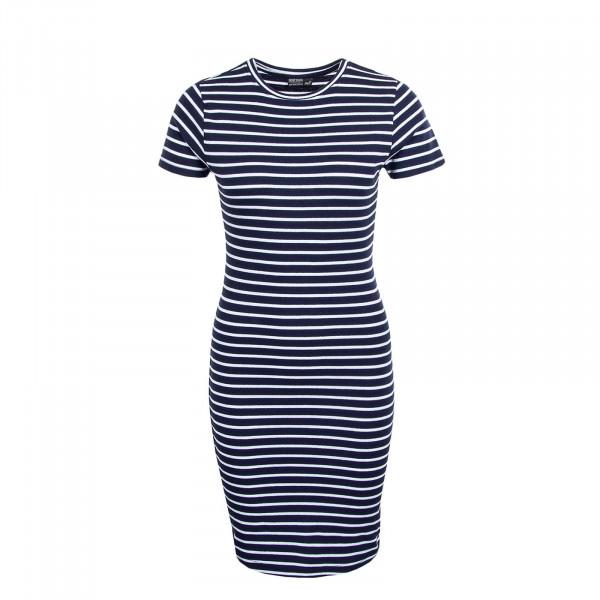 Kleid 30162 Stripe Dark Blue