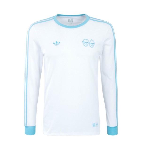 Adidas Skate LS Krooked White Blue
