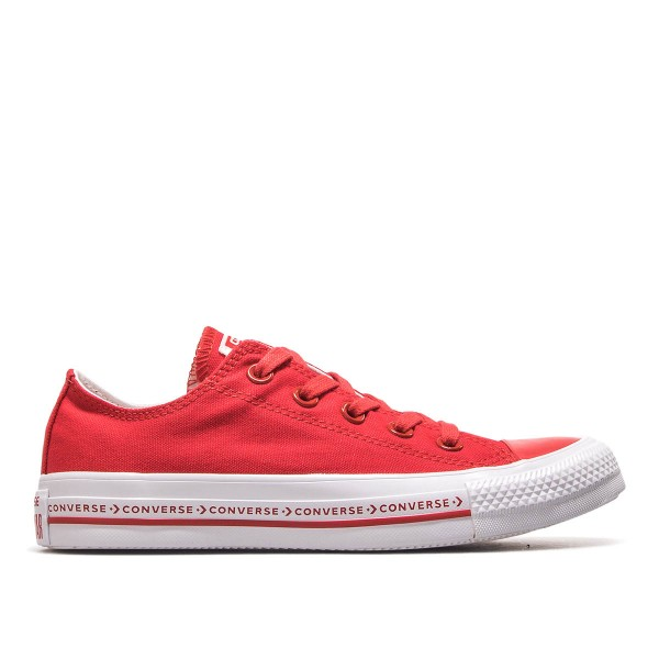 Damen Sneaker AS OX Enamel Red White