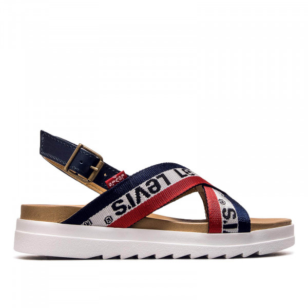 Levis Wmn Slide Persia Navy White Red