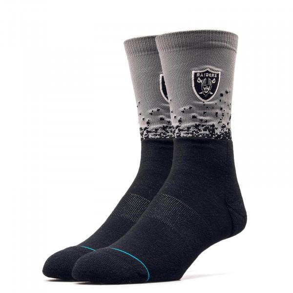 Stance Socks Raiders Fade 2 Black