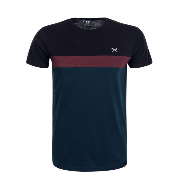 Herren T-Shirt Court Dark Orion Green Wine Black