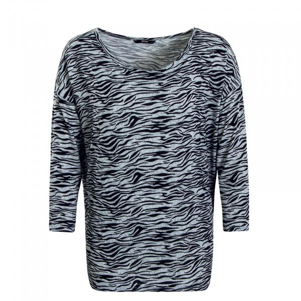 Damen Longsleeve Elcos 4/5 Zebra Light Grey