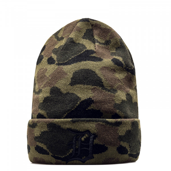 New Era Beanie Cuff DetTig Camo Green