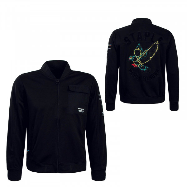 Herren Trainingsjacke Pigeon Poly Black