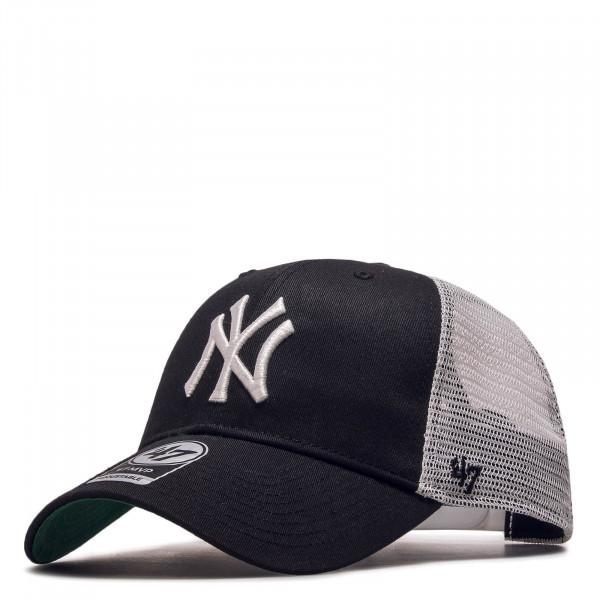 47 Brand Cap Trucker NY Black White