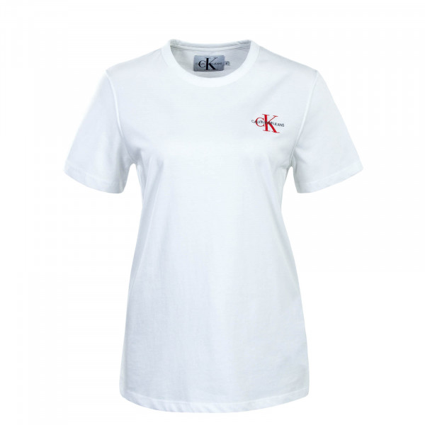 T-Shirt Embroidery White